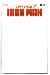 Marvel - Tony Stark Iron Man # 1 Blank Variant