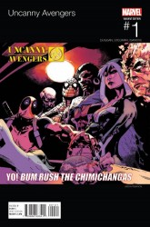 Marvel - Uncanny Avengers # 1 Pearson Hip Hop Variant