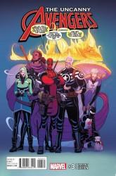 Marvel - Uncanny Avengers # 3 Moore Variant