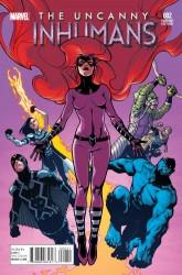 Marvel - Uncanny Inhumans # 2 1:25 Asrar Variant