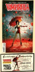 Dynamite - Vampirella # 3 Kenan Yarar Variant Kenan Yarar İmzalı Sertifikalı