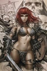 Dynamite - Vampirella Red Sonja # 1 1:25 Chew Virgin Variant
