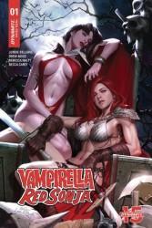 Dynamite - Vampirella Red Sonja # 1 1:21 Hyuk Lee Variant