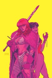 Dynamite - Vampirella Red Sonja # 1 1:20 Romero & Bellaire Virgin Variant