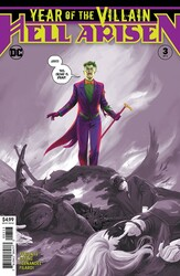 DC - Year Of The Villain Hell Arisen # 3 Third Printing