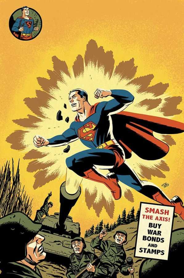 Action Comics # 1000 1940s Variant