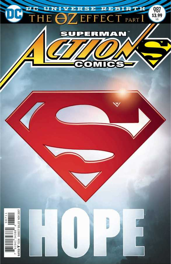 DC - Action Comics # 987 (Oz Effect) Lenticular Variant