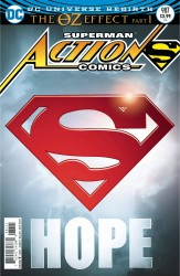 DC - Action Comics # 987 (Oz Effect) Lenticular Variant