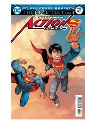 DC - Action Comics # 990 (Oz Effect) Lenticular Variant