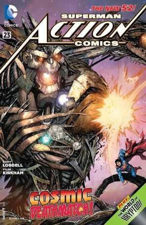 DC - Action Comics (New 52) # 23
