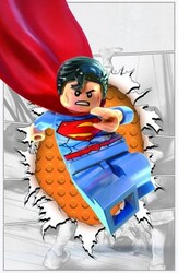 DC - Action Comics (New 52) # 36 Lego Variant