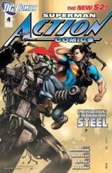 DC - Action Comics (New 52) # 4