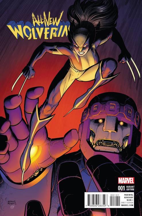 Marvel - All New Wolverine # 1 Art Adams Variant