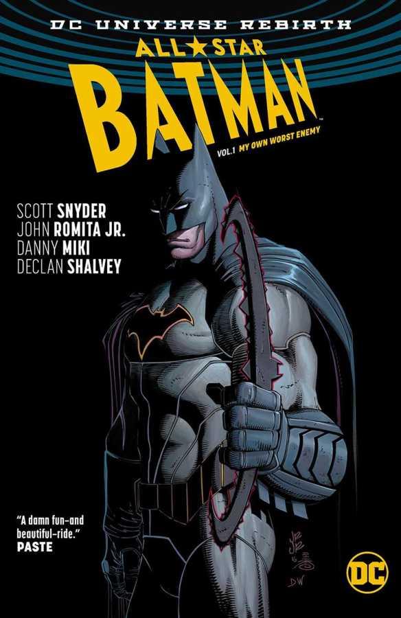 All Star Batman Vol 1 My Own Worst Enemy HC