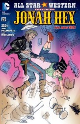 DC - All Star Western Featuring Jonah Hex (New 52) # 29