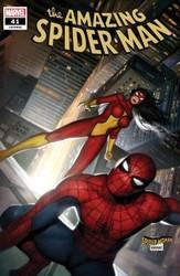 Marvel - Amazing Spider-Man (2018) # 41 Brown Spider-Woman Variant