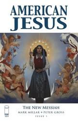 - American Jesus New Messiah # 1 A Muir Cover
