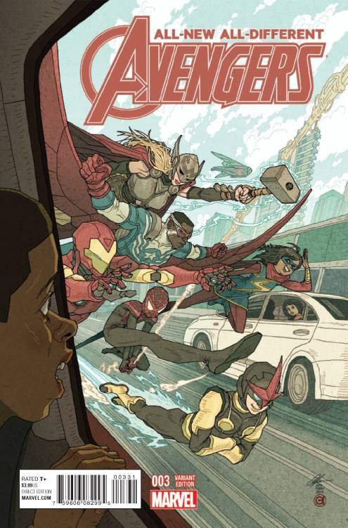 Marvel - All New All Different Avengers # 3 1:25 Chan Variant