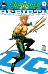DC - Aquaman Rebirth # 1 Variant
