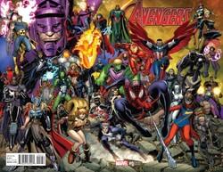 Marvel - Avengers # 0 1:25 Arthur Adams Wraparound Variant