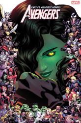 Marvel - Avengers (2018) # 23 Dauterman Marvel 80th Frame Variant
