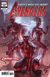 Marvel - Avengers (2018) # 22 Junggeun Yoon Carnage-Ized Variant
