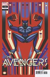 Marvel - Avengers (2018) # 38 Black Panther Jeffrey Veregge Variant