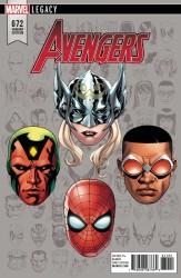 Marvel - Avengers # 672 McKone Headshot Variant Leg