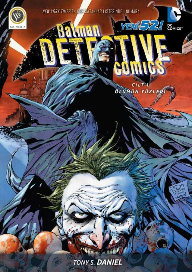 JBC Yayıncılık - Batman Dedektif Hikayeleri (Yeni 52) Cilt 1 Ölümün Yüzleri