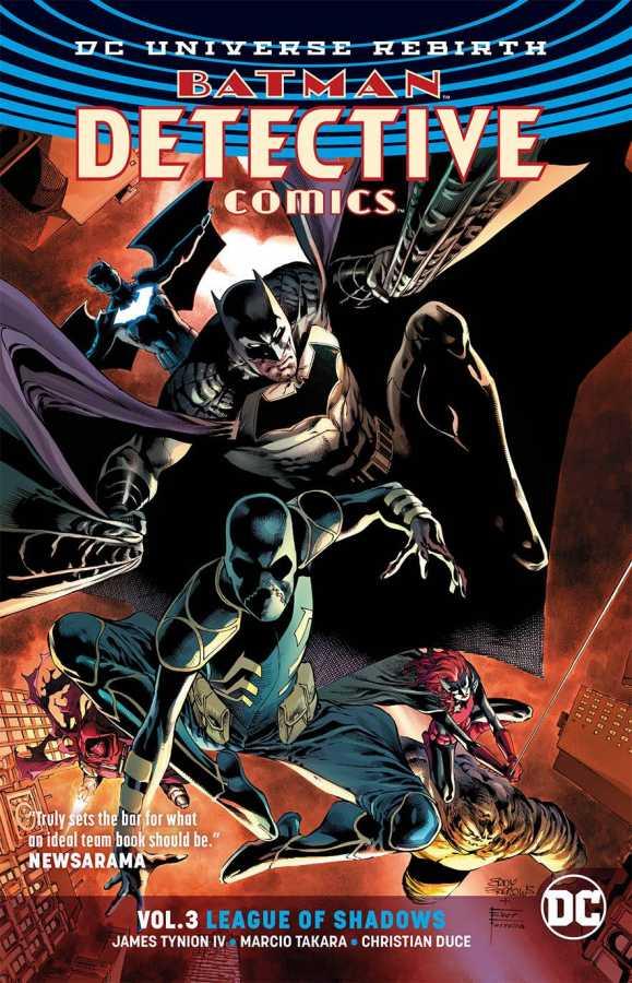 DC - Batman Detective Comics (Rebirth) Vol 3 League TPB