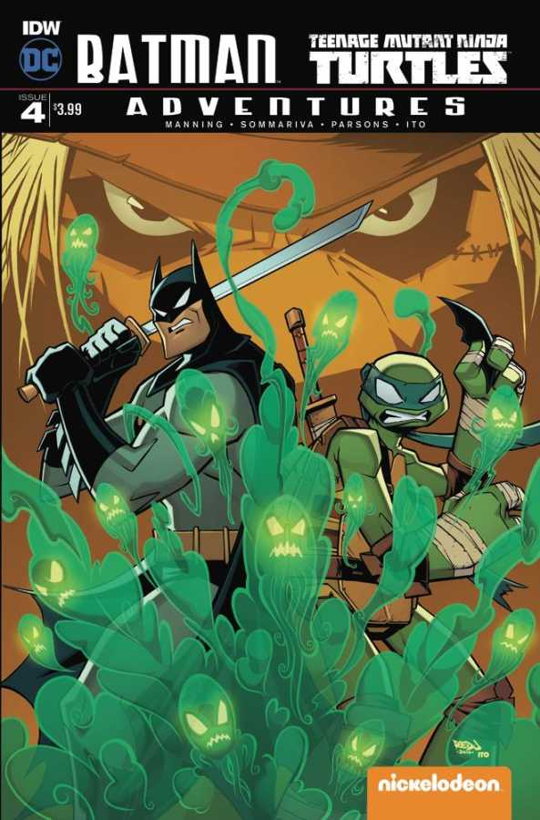 IDW - Batman Teenage Mutant Ninja Turtles Adventures # 4