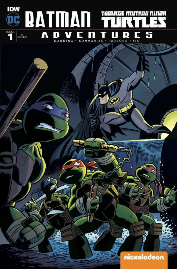 IDW - Batman Teenage Mutant Ninja Turtles Adventures # 1 1:10 Variant