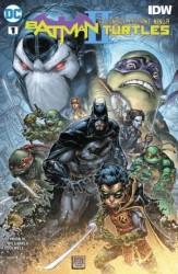 DC - Batman Teenage Mutant Ninja Turtles II # 1