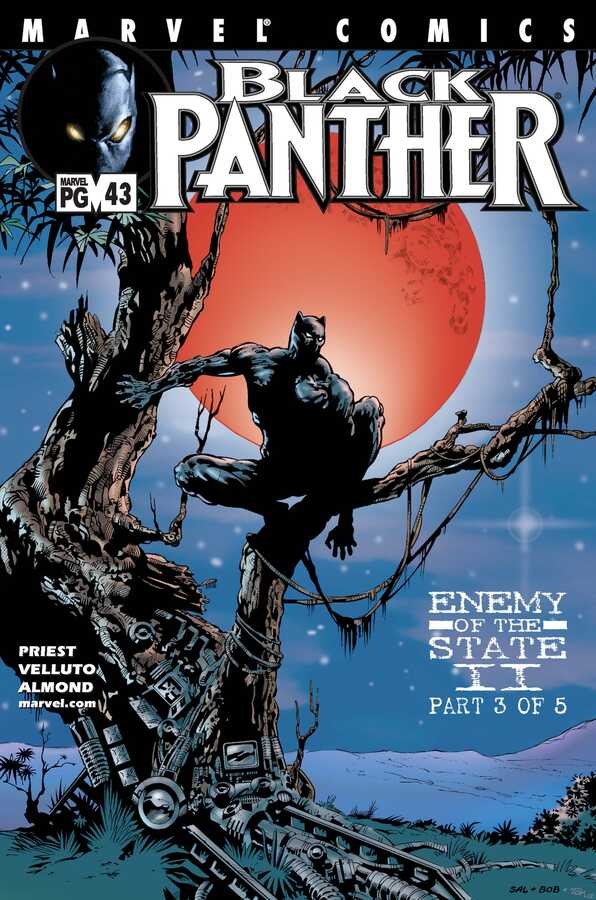Marvel - Black Panther (1998 2nd Series) # 43