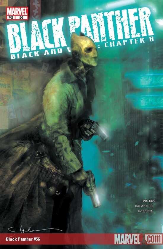 Marvel - Black Panther (1998 2nd Series) # 56