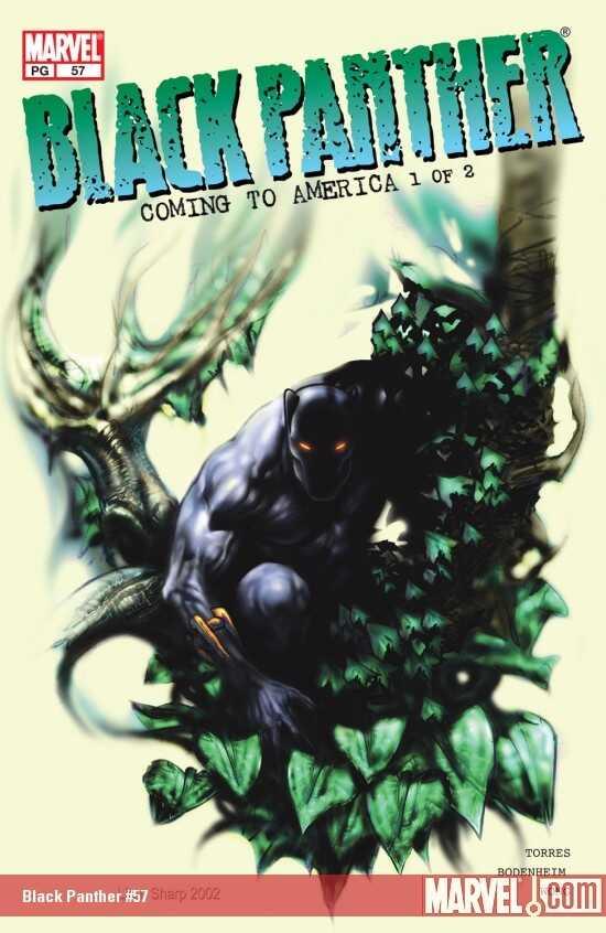 Marvel - Black Panther (1998 2nd Series) # 57