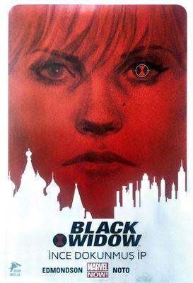 Black Widow Cilt 1 İnce Dokunmuş İp