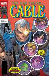 Marvel - Cable # 150 Liefeld Lenticular Homage Variant