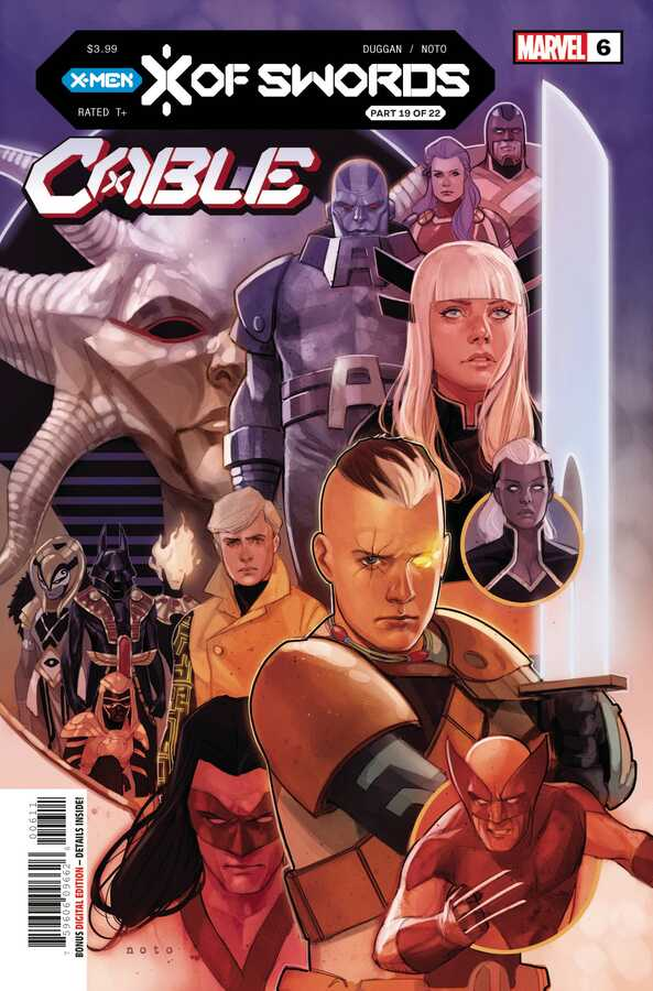 Marvel - CABLE # 6 XOS