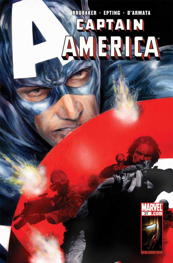 Marvel - CAPTAIN AMERICA (2004) # 37