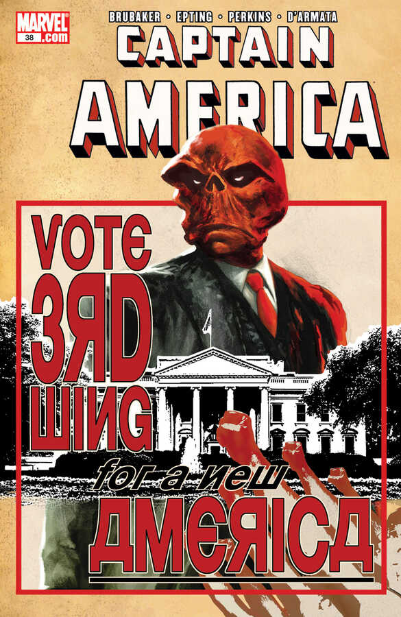 Marvel - CAPTAIN AMERICA (2004) # 38