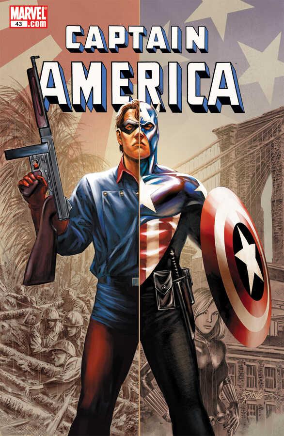 Marvel - CAPTAIN AMERICA (2004) # 43