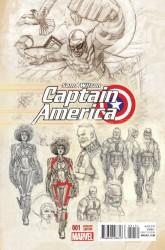 Marvel - Captain America Sam Wilson # 1 Acuna Variant