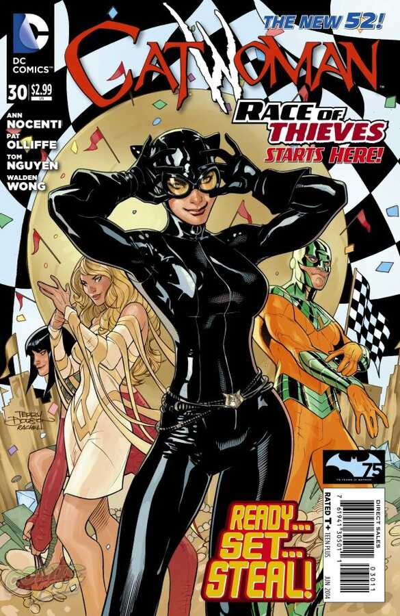 DC - Catwoman (New 52) # 30