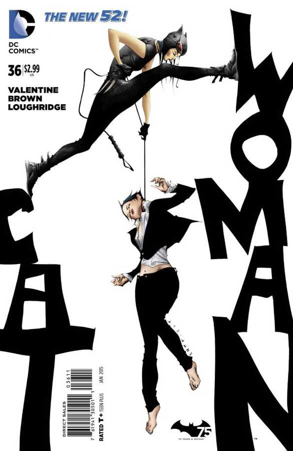 DC - Catwoman (New 52) # 36