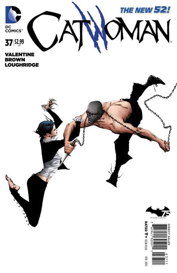 DC - Catwoman (New 52) # 37