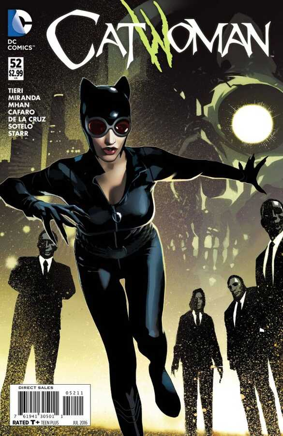DC - Catwoman (New 52) # 52