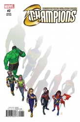 Marvel - Champions # 2 Choi Variant