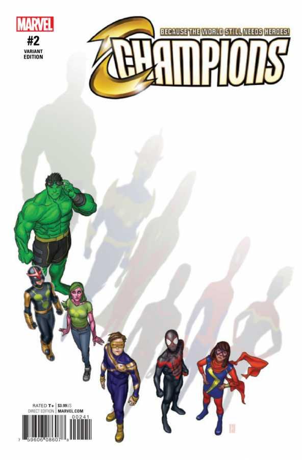 Marvel - Champions # 2 Choi Variant