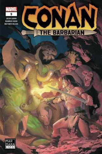 Marmara Çizgi - Conan The Barbarian Sayı 9